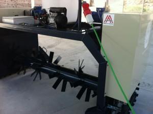 Volteadora de compost SF 200